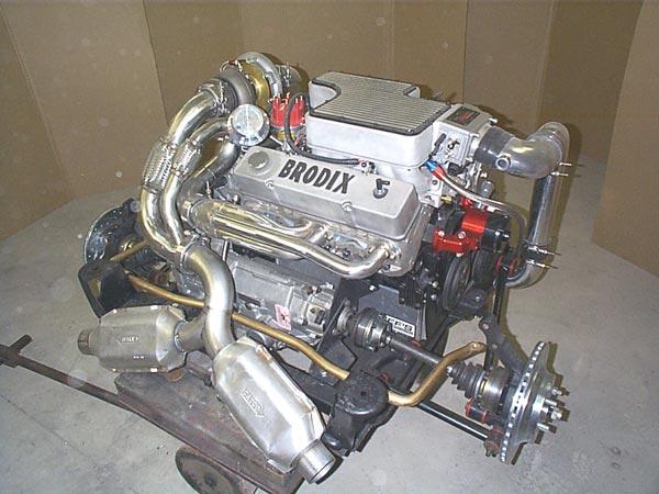 Chevy V8  Transverse